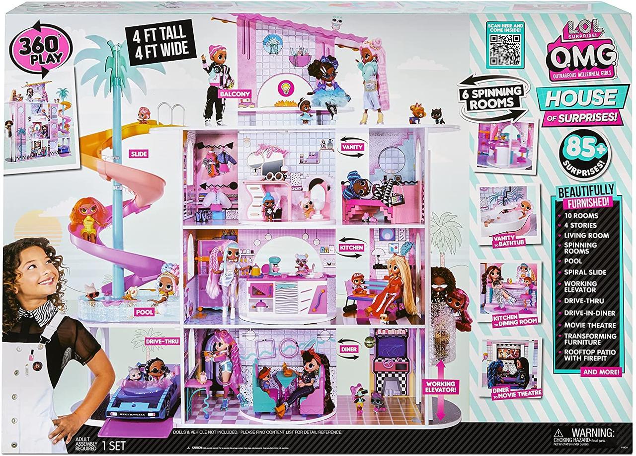 Ігровий Меганабор, будиночок LOL Surprise Розкішний особняк з сюрпризами OMG L.O.L. Surprise 576747