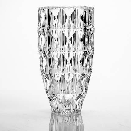 """Ваза стеклянная BOHEMIA """"Diamond"""" (25 см) , фото 2"""