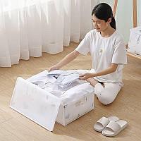 Водонепроникна органайзер для зберігання ковдр, подушок, речей 55x35x20 см