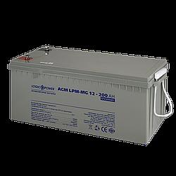 Аккумулятор мультигелевый AGM LogicPower LPM-MG 12 - 200 AH