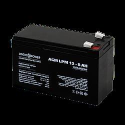 Акумулятор кислотний AGM LogicPower LPM 12 - 8,0 AH