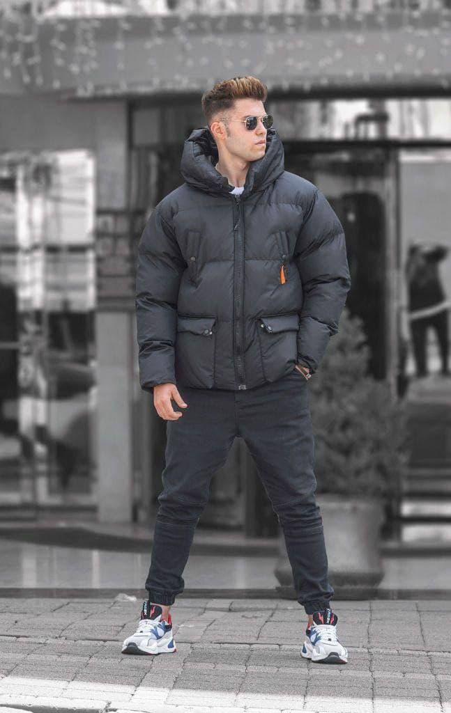 Куртка чоловіча чорна зима пр-під Туреччина О Д