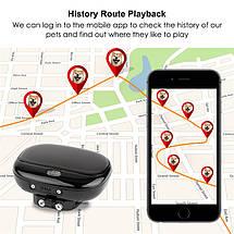 GPS трекер для собак GPS Tracker V43 с отслеживанием (Черный), фото 3