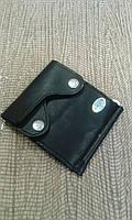 Кожаный портмоне зажим с отделом под мелочь,фирма SWAN