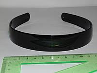 Обруч черный широкий 2,3 см