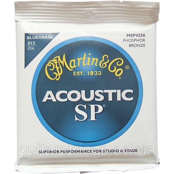 Струны Martin MSP4250 SP Phosphor Bronze 92/8Bluegrass 13-56