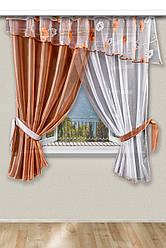 Красиві штори і фіранки для кухні