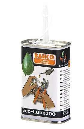 Синтетическая смазка для секаторов, Bahco, ECO-LUBE100, фото 2