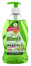 Гіпоалергенна засіб для миття посуду Madel Winni's Piatti Concentrato de Fiori Lime 500ml
