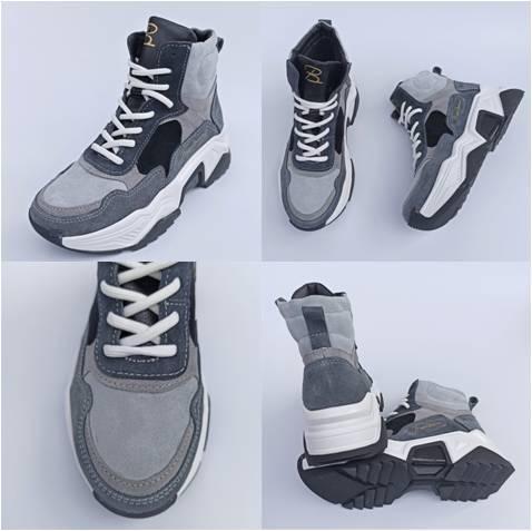 Женские ботинки на спортивной подошве, фото