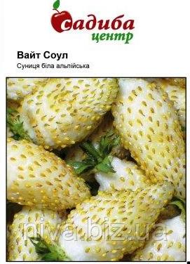 Вайт Соул насіння суниці Садиба Hem Zaden 0.1 г