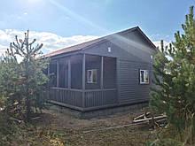 Каркасний Будиночок для Дачі 8 на 10 м