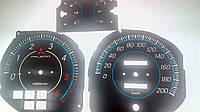 Шкалы приборов Mitsubishi Pajero 2, фото 1