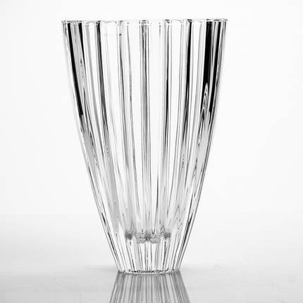 "Ваза стеклянная BOHEMIA ""Oval""  7197 (30 см), фото 2"