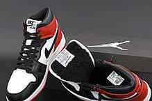 Зимние кроссовки Nike AirAir Jordan Winter с мехом, женские кроссовки. ТОП Реплика ААА класса., фото 3