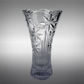 """Ваза стеклянная BOHEMIA """" Perseus Nova""""  5868 (30 см)"""