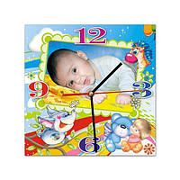 Часы настенные с Вашей фотографией (модель № 3Д)