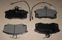 Колодка тормозная ВАЗ 2110 передняя с  электронным сигнализатором (комплект 4шт.) (2.1.5) (пр-во Цитрон)
