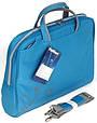 """Женская сумка для ноутбука 15.6""""-16"""" PortCase KCB-51 голубая, фото 4"""