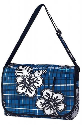 Удивительная молодежная сумка Daniel Ray полиэстер 43,554302 синяя