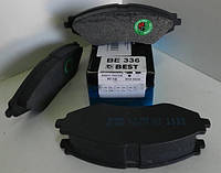Колодка тормозная DAEWOO LANOS 1.6 16V, NUBIRA, LACETTI передняя (пр-во BEST)