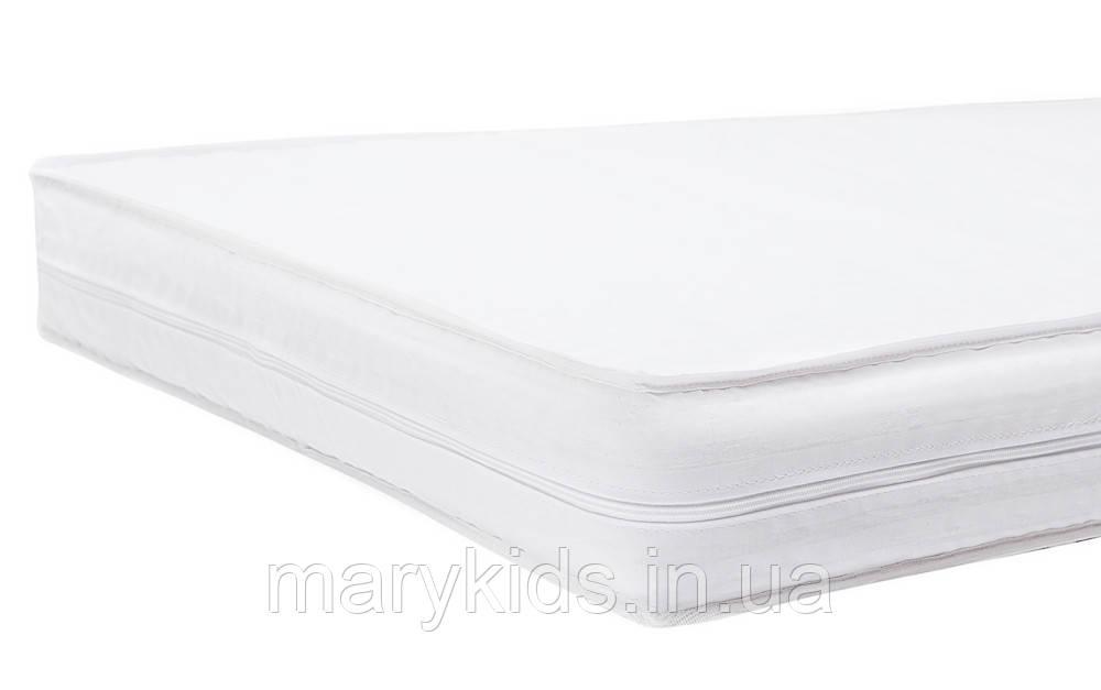 Матрас Babyroom GPK-10 гречка толстый (кокос, поролон, гречка)  белый