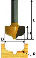 Фреза пазовая фасонная ф23.8х16, r4.8, хв.8мм (арт.9277)