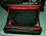 Удобный универсальный поясной держатель удилища Stakan 3.1 + многофункциональная сумка рыбака, фото 2