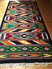 Доріжка ткана шерстяна гуцульський орнамент ручної роботи 310*145 см