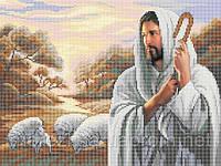 Схема для вышивки бисером Господь - Пастырь мой