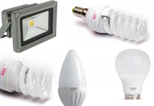 220 ТМ лампы, светильники, прожектора