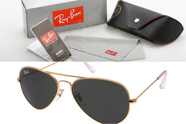 Ray-Ban Aviator. Зеркальные солнцезащитные очки Рей Бен. Модель 3026 ... c72e6b2a68130