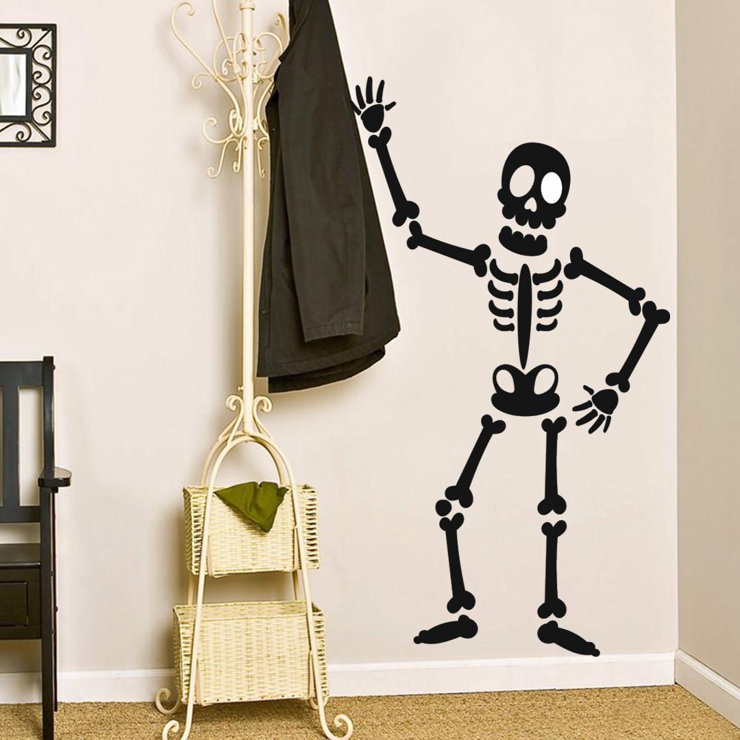 """Декоративна наклейка на Хеллоуїн """"Скелет"""""""