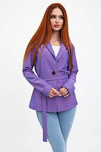 Пиджак женский 115R363-5 цвет Фиолетовый 1215228817