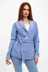 Пиджак женский 115R363-5 цвет Джинс
