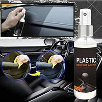 Реставрація пластику PLASTIC RESTORE SAPHEER відновлення пластикового покриття (для внутрішнього) 100 ml, фото 1