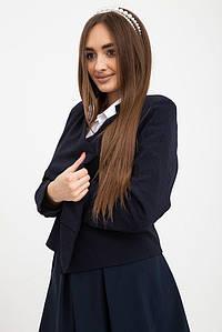 Пиджак женский 115R225S цвет Темно-синий 1457610651