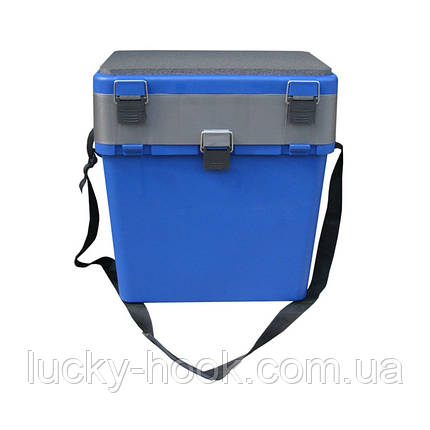 """Ящик для зимней рыбалки Тонар """"Синий"""", фото 2"""