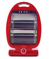 Обогреватель кварцевый NSB-80 инфракрасный 800 Вт Красный (3124im)