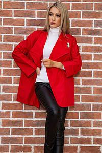 Жакет женский 167R071 цвет Красный