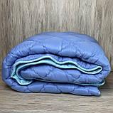 Одеяло на холлофайбере ОДА Евро размера 200х220 Стеганное зимнее одеяло высокого качества, фото 6