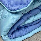 Одеяло на холлофайбере ОДА Евро размера 200х220 Стеганное зимнее одеяло высокого качества, фото 7