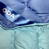 Одеяло на холлофайбере ОДА Евро размера 200х220 Стеганное зимнее одеяло высокого качества, фото 2