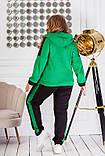 Теплий спортивний костюм трехніть кофта на блискавці штани розмір: 50-52, 54-56, 58-60, 62-64, фото 7