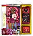 Лялька Мосту Хай Вайолет Віллоу Rainbow High Violet Willow Purple Fashion Doll оригінал MGA, фото 5