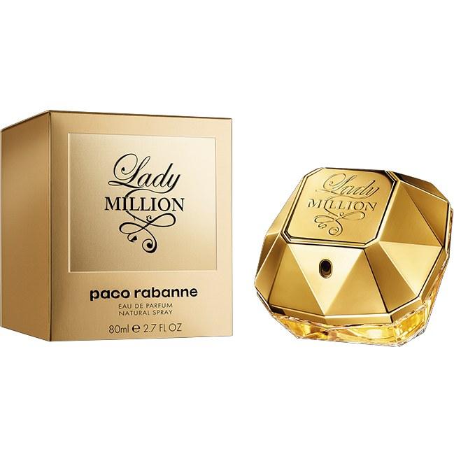 Женская парфюмированная вода Paco Rabanne Lady Million 80 мл (Euro A-Plus)