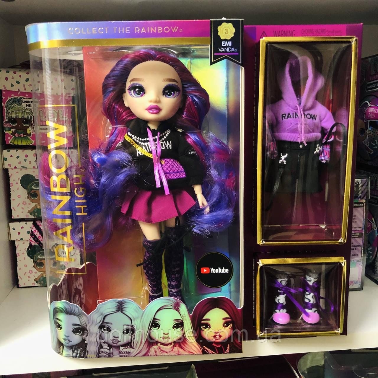 Лялька Rainbow high s3 - Орхідея Orchid doll EMI Vanda