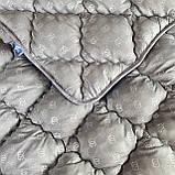 Одеяло на холлофайбере ОДА Евро размера 200х220 Стеганное зимнее одеяло высокого качества, фото 8