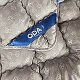 Одеяло на холлофайбере ОДА Евро размера 200х220 Стеганное зимнее одеяло высокого качества, фото 9