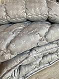 Одеяло на холлофайбере ОДА Евро размера 200х220 Стеганное зимнее одеяло высокого качества, фото 10